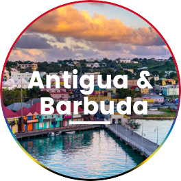 Destination wedding in antigua & barbuda