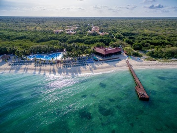 Plan your Destination Wedding or honeymoon at Occidental Cozumel with My Wedding Away