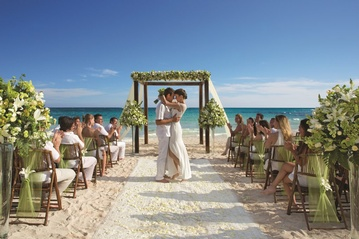 Plan your Destination Wedding or honeymoon at Dreams Tulum Resort & Spa with My Wedding Away