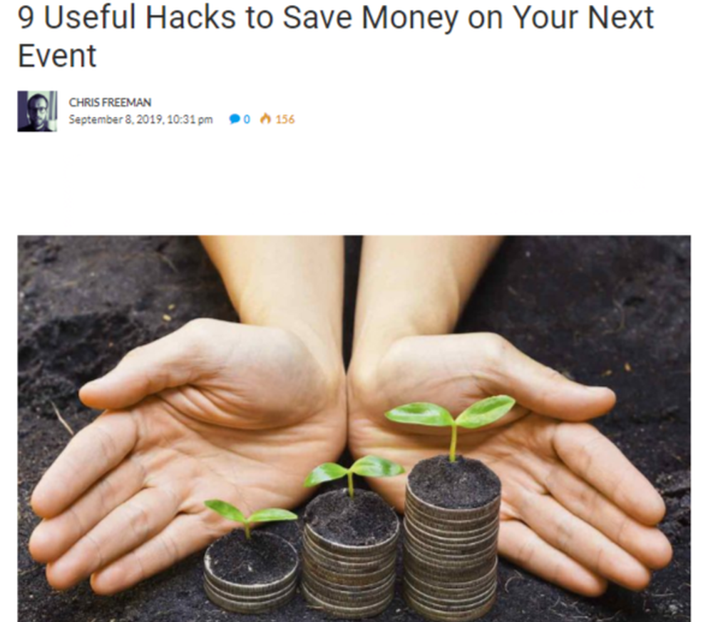 9 Useful Hacks to Save Money on Your Next Event - TechSling Weblog.png