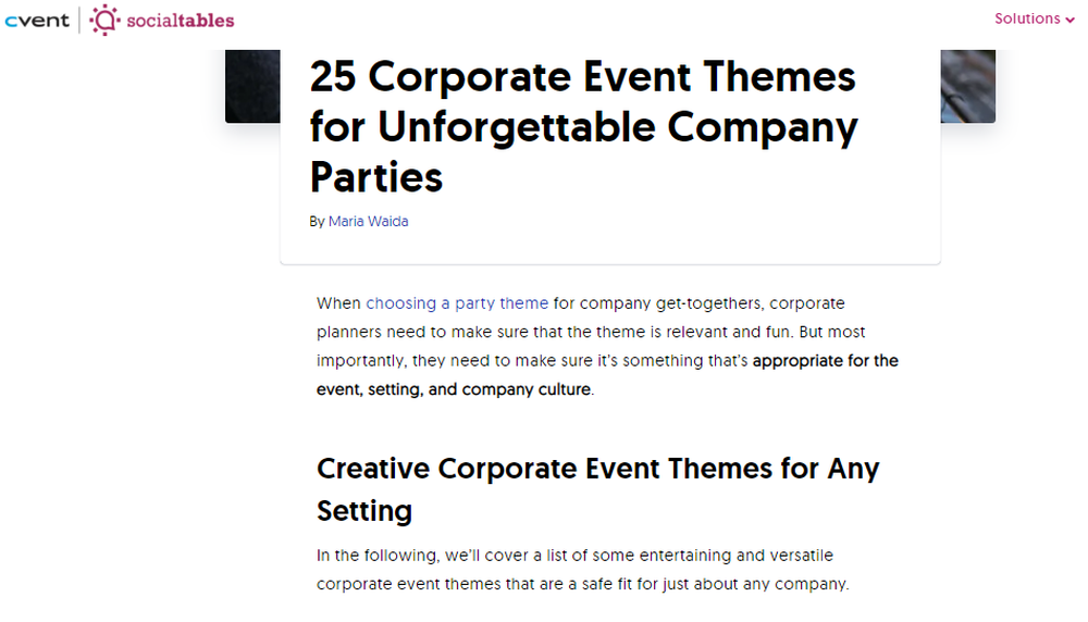 25 Corporate Event Themes  Creative Ideas for Food  Decor    More.png