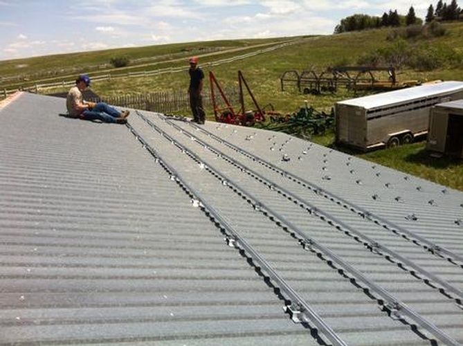 Commercial Agricultural Roof Mount Alberta