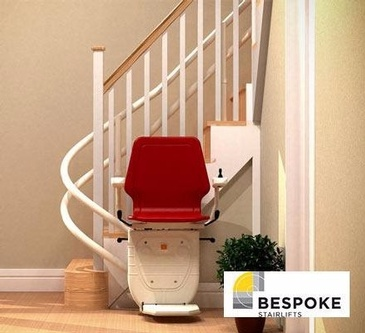Bespoke Curved Stairway Lift