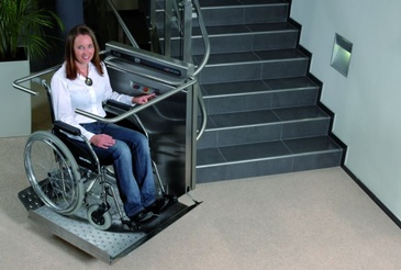 Commercial Inclined Wheelchair Lift