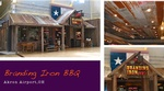 Branding Iron BBQ - Restaurant Interior Design Akron Airport OH by Frausto Designs