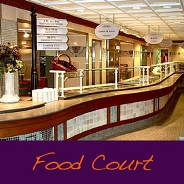 Food Court - Commercial Interior Design Austin by Frausto Designs