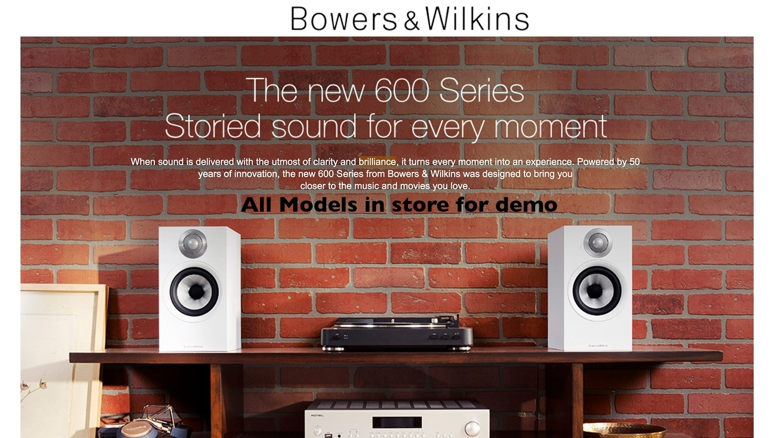 The new 600 series