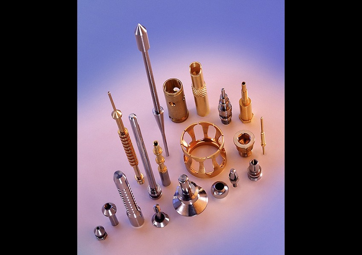 A display of drill bits and other drill attachments - Joe Robbins Photography