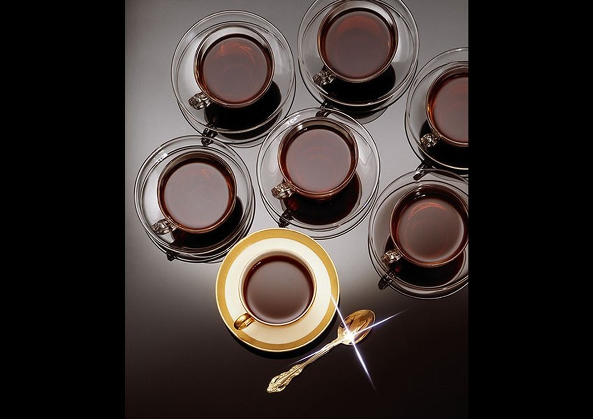 Cups of black tea captured beautifully by Joe Robbins Photography
