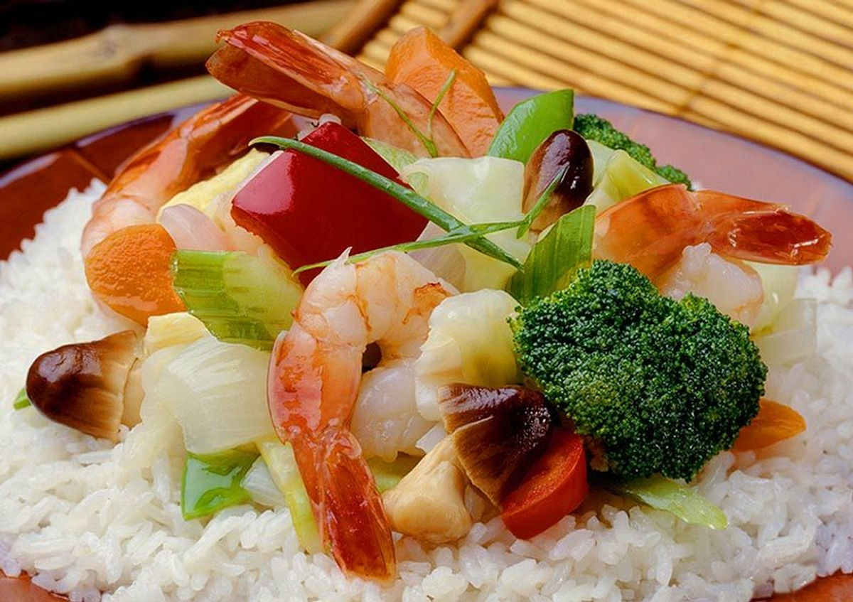 Shrimp Fried Rice - Joe Robbins Professional Food Photography in Houston