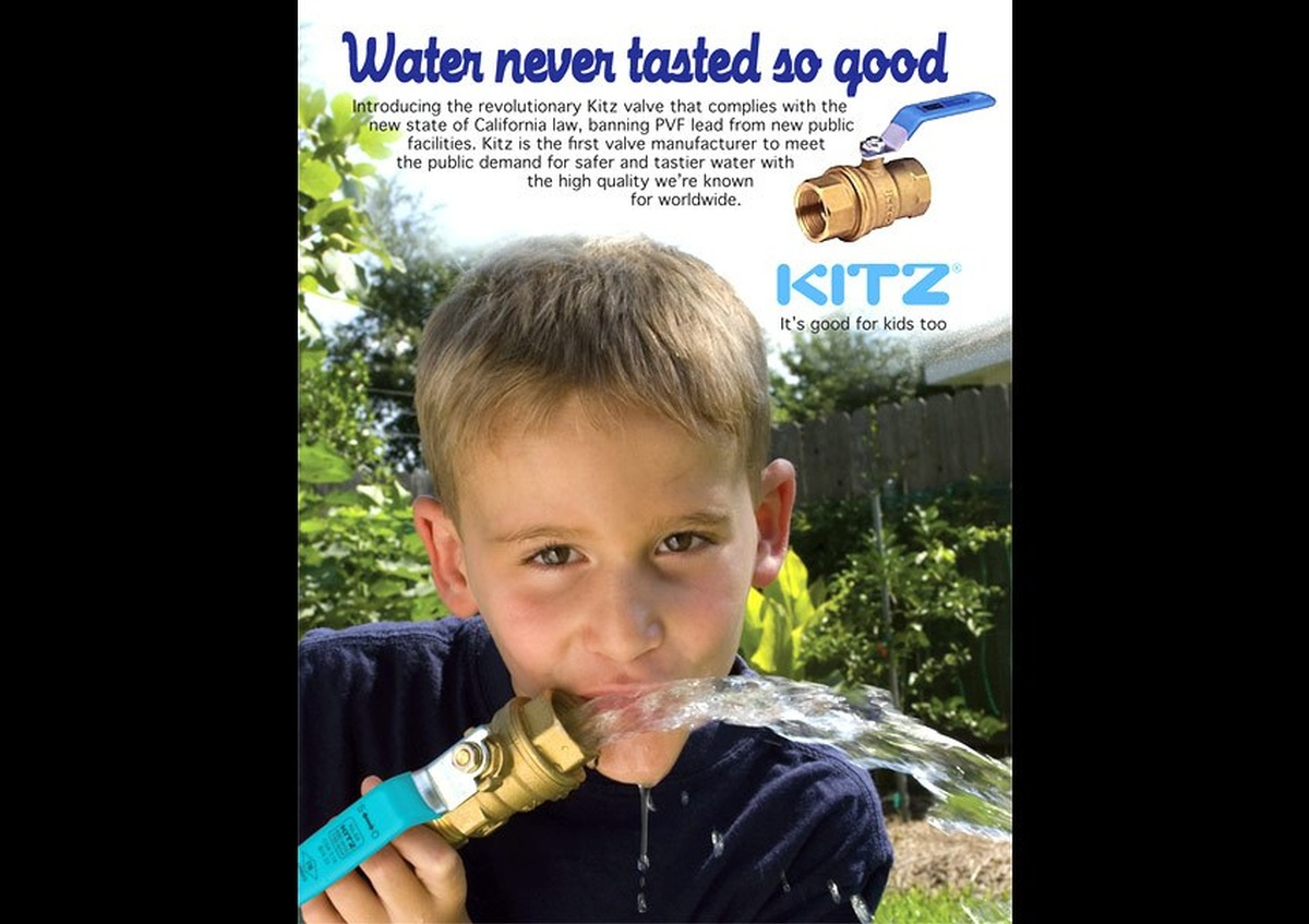 Kitz pipe valve poster - Joe Robbins Photography
