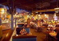 Restaurant Architecture Design photographed by Joe Robbins - Architecture Photographer Houston TX