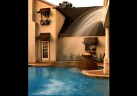 An Indoor Swimming pool captured by Joe Robbins - Architectural Photographer Houston