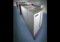A server room with NEC Rack Servers - Joe Robbins Product Photographer Houston TX