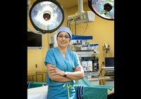 A surgeon in the Operation theatre - Professional Photography by Joe Robbins in Houston