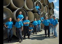 A group of workers in Crew T-shirts - Professional Photography in Houston TX by Joe Robbins, People Photographer