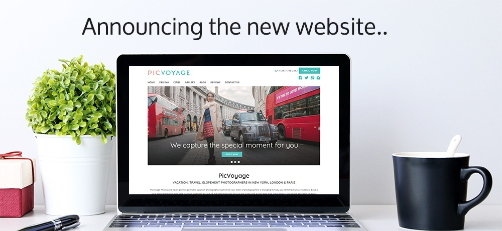 Announcing the new website - PicVoyage