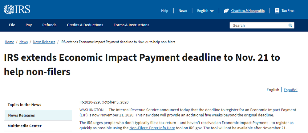 IRS-extends-Economic-Impact-Payment-deadline-to-Nov-21-to-help-non-filers-Internal-Revenue-Service.png