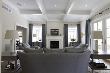 Eve's Creations Full Service Interior Design Services for Crestmoor Park Home