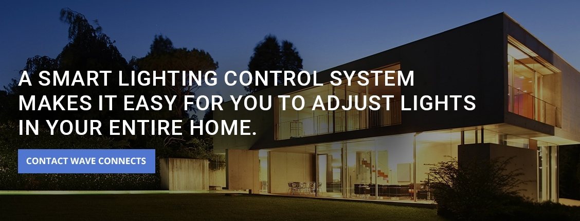 A Smart Home Lighting Control System San Diego by Wave Connects