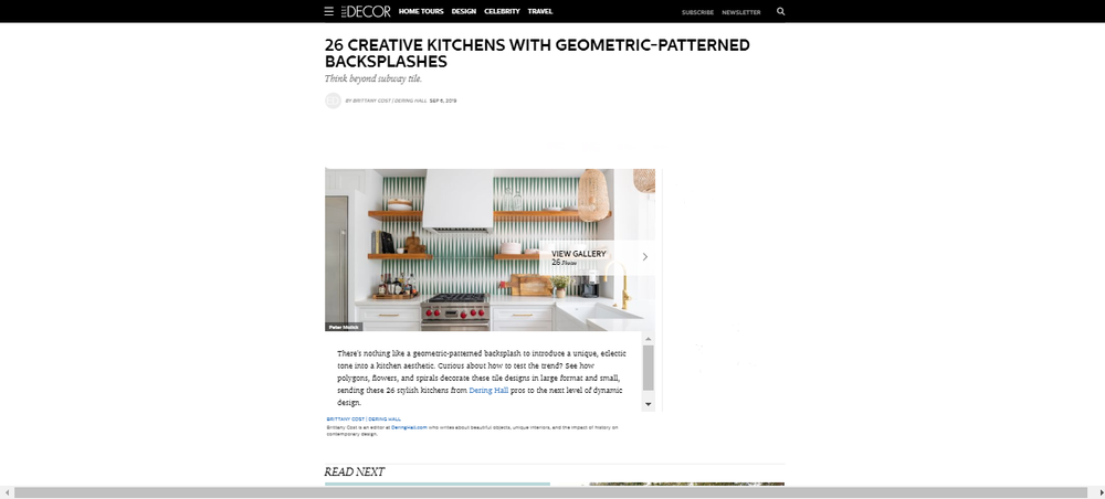 Creative Geometric Kitchen Backsplashes - Geometric Backsplash Ideas.png