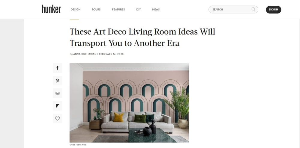Art Deco Living Room Ideas and Inspiration   Hunker