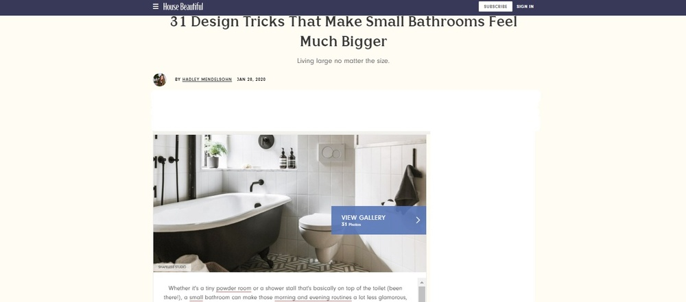 30  Small Bathroom Design Ideas - Small Bathroom Solutions (1)