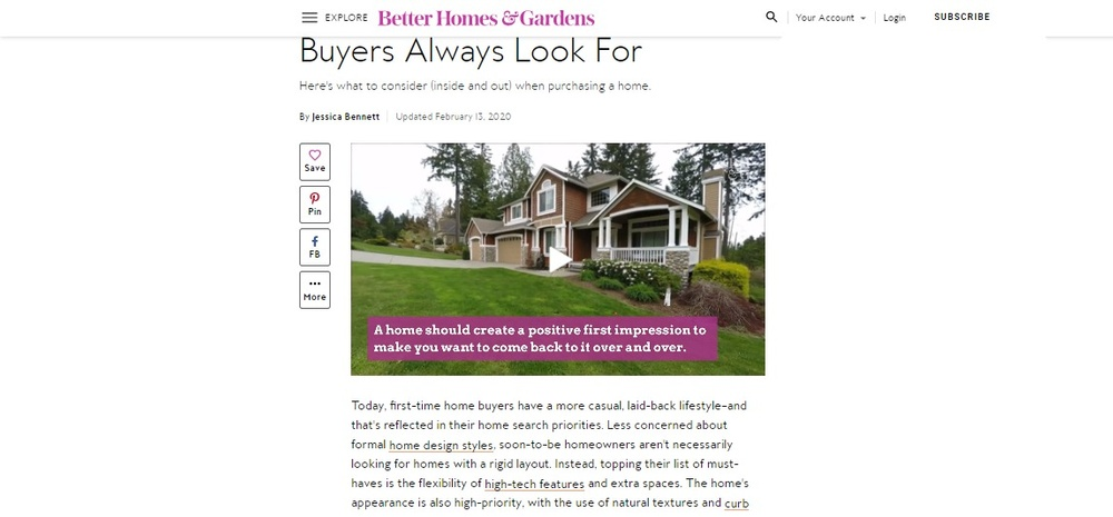 4 Must-Have Features Home Buyers Always Look For   Better Homes   Gardens