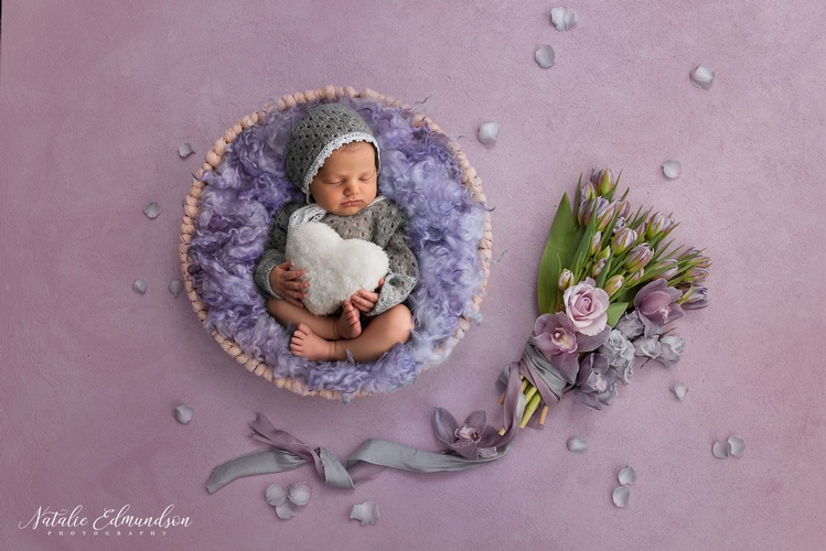 Natalie Edmundson offers Baby Photography with Professional Props