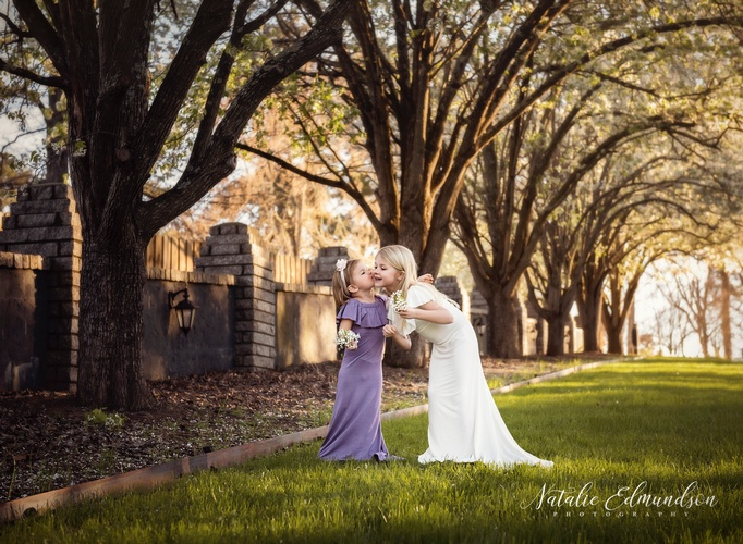 Sibling Love Captured by Natalie Edmundson Photography