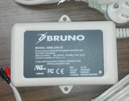 NEW Bruno Charger OEM-2401B for Elan SRE-3000 BCR-24022