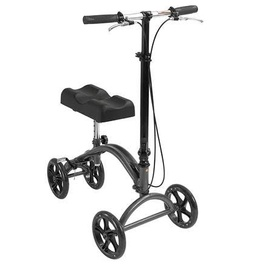 Knee Walker - Steerable with a basket and Hand Brake