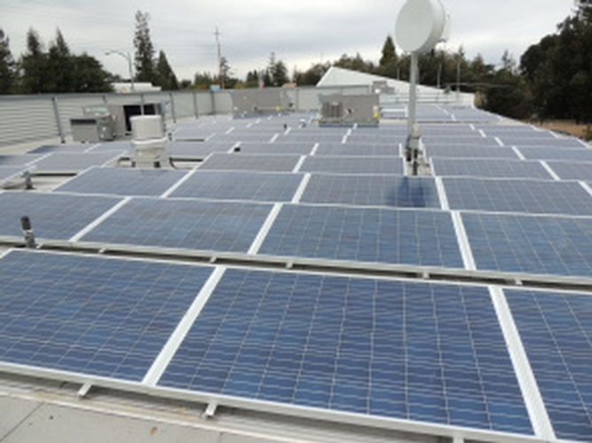 Los Gatos Police Department Solar Panels by Solar Panel Contractor -  FRESCO SOLAR