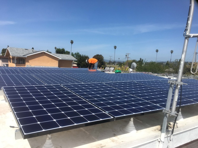 Commercial Solar Panels California