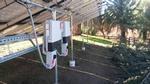 Backside view of 13kW ground mounted Solar Panels, Byron, CA - FRESCO SOLAR