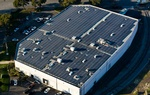 Commercial solar panel Rooftop Array Installation by FRESCO SOLAR