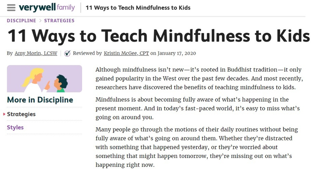 Mindfulness Training for Teachers Canada