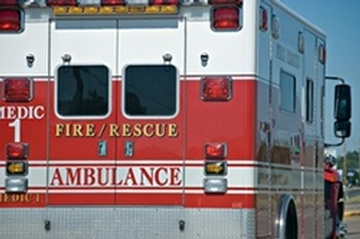 Emergency Vehicle - Fire, Rescue Ambulance