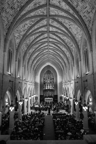 Grayscale Church Photography by Mode T Productions - Photographer Saint Paul