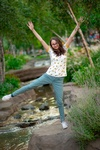 Teenager Girl Near Water Spring - Professional Photography Services Saint Paul MN by Mode T Productions