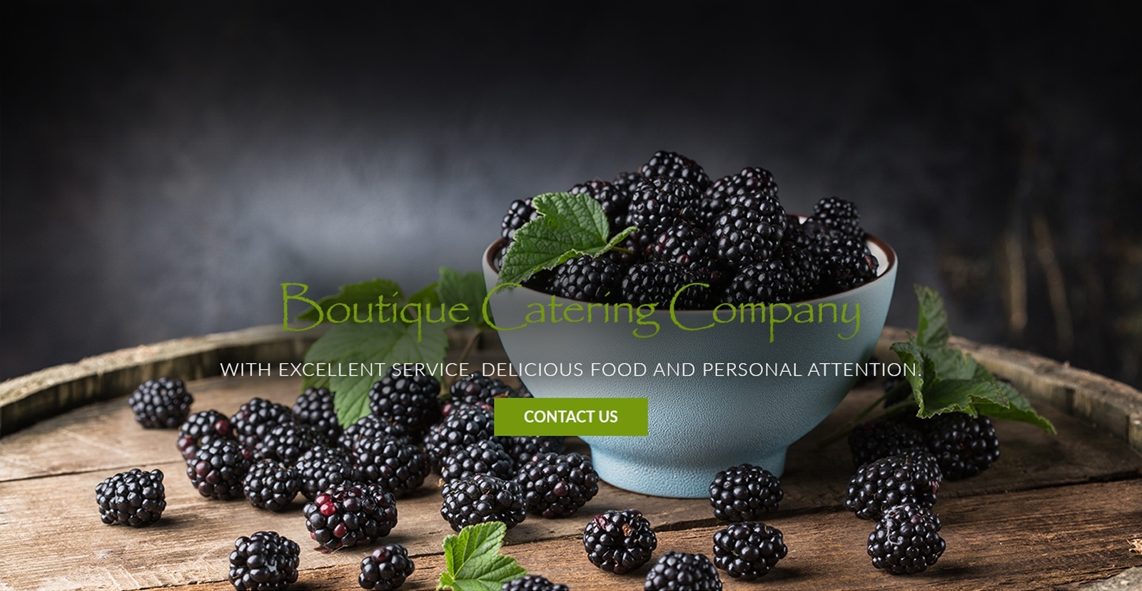 Boutique Catering Company with Excellent Service, Delicious Food, and Personal Attention.