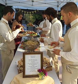 Buffet Lunch organised at Wedding Catering by Christie's Catering Seattle