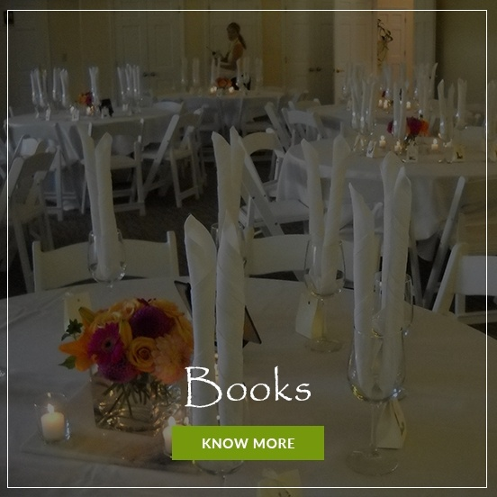 Books on Event Catering by Christie's Catering Seattle