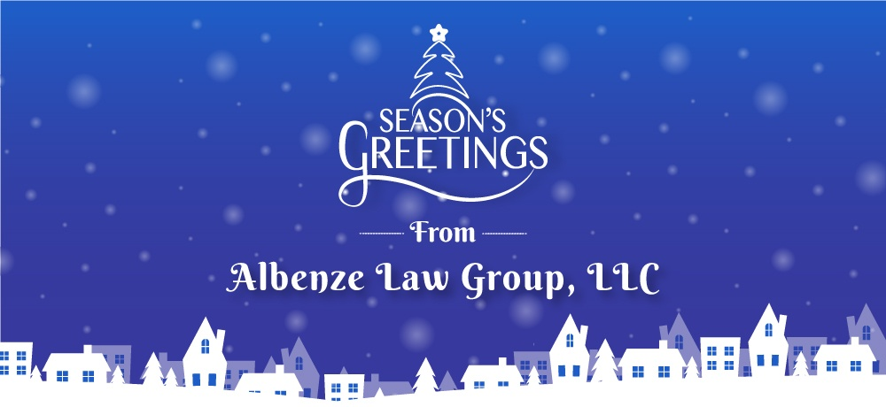 Season's Greetings from Albenze Law Group, LLC.jpg