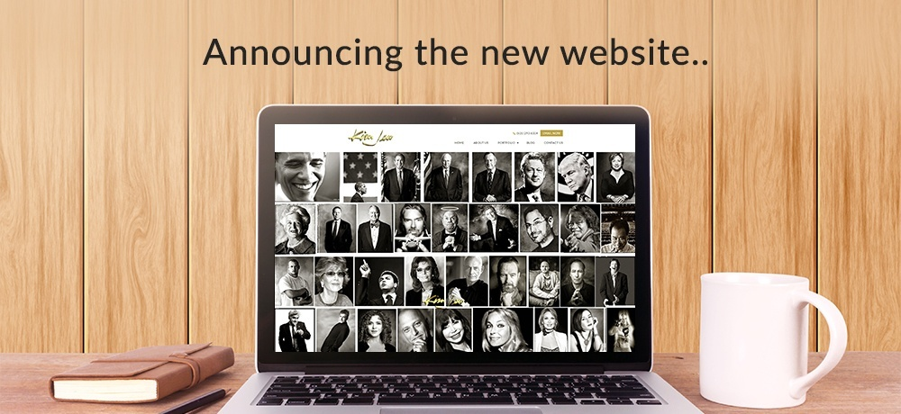 Announcing the New Website - Kim Jew