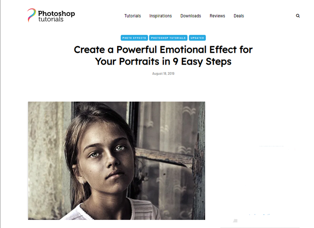 Create a Powerful Emotional Effect for Your Portraits in 9 Easy Steps - Photoshop Tutorials.png
