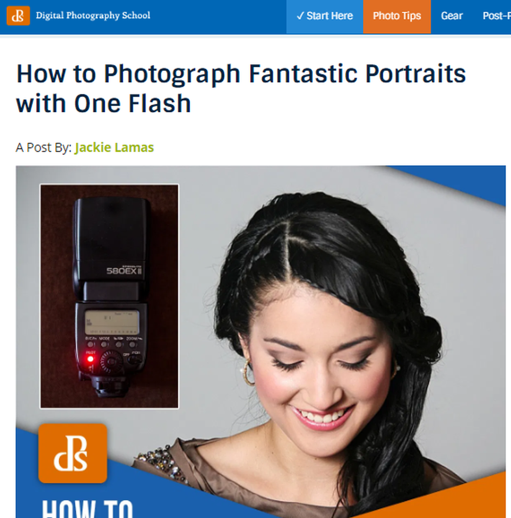 How to Photograph Fantastic Portraits with One Flash.png