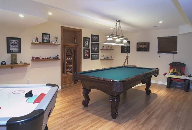Basement Renovation Contractor at Finished Basements in Oakville