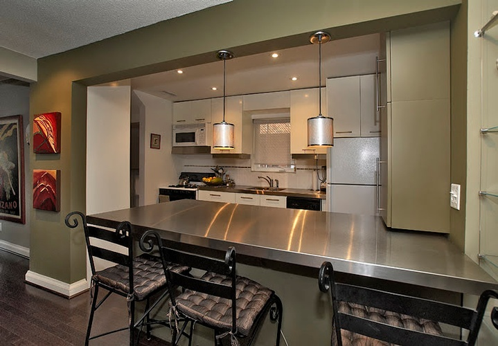 Kitchen Renovation project undertaken by Finished Basements in East York, ON