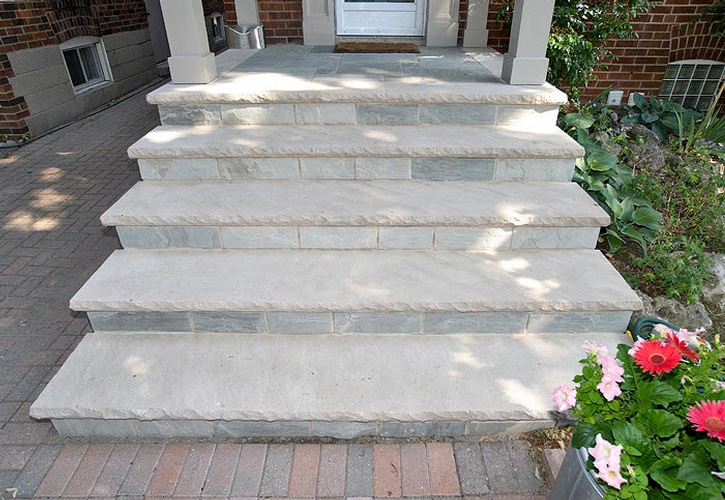 Concrete Steps of Renovation Project undertaken by Finished Basements